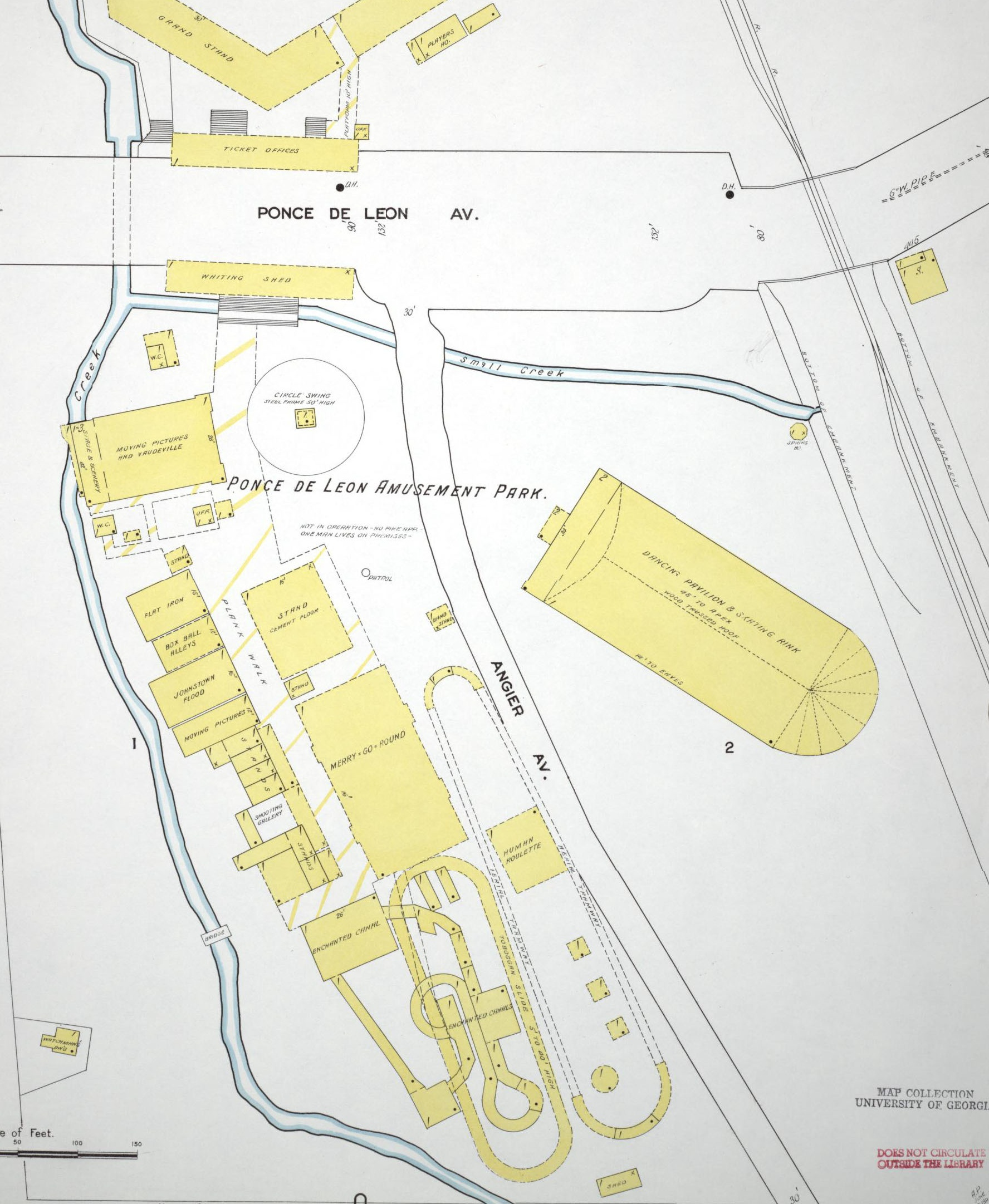 Map of Ponce Park 1905