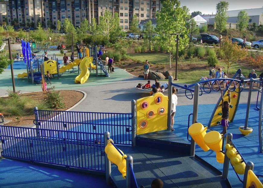 Children Enjoying the playground